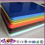 Kleur en Transparant Gegoten AcrylBlad voor LEIDEN Teken
