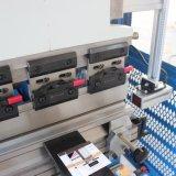 machine à cintrer de feuillard de 5 millimètres, frein de presse hydraulique de commande numérique par ordinateur 100 tonnes de capacité, machine à cintrer de tôle de 5mm, machine à cintrer de plaque hydraulique 4000 millimètres