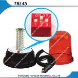 Amber Kleur 12V-24V van Roteren 5730LED/de Opvlammende Magnetische Stop die van Cigarettel van de Basis Lichte Bakens waarschuwen (TBL 45)