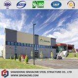 Magazzino strutturale d'acciaio prefabbricato diplomato qualità di 9001:2008 di iso
