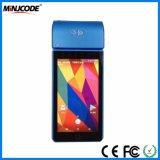 Os terminais POS inteligente de mão, Android Market 7.0 Terminal POS portátil, 5 polegada POS Suporte para Máquinas Móveis de pagamento electrónico, EMV/Pvi certificadas, Mj St8050b