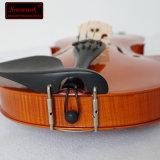 Bon marché étudiant de contreplaqué de violons avec la flamme