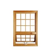 La manovella di alluminio di alta qualità Parte-Ha appeso la finestra con vetro Tempered