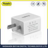 Dubbel Overgegaan Ce RoHS van de Reis USB van de Haven Snel Lader