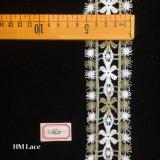 lacet mignon de garniture de fleur de garniture de lacet de frange de bille de neige de 5.5cm Shantou pour Madame Garment Hme882