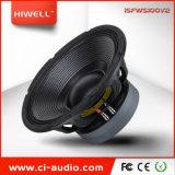 Outdoor Powered 15 pouces de haut-parleur caisson de basses double aimants sonorisation professionnelle.