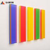 4m x 8 pi Glitter de haute qualité des couleurs vives feuille acrylique