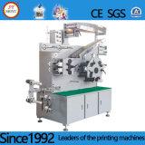 Cores automática Flexo a etiqueta de tecido máquina de impressão
