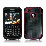 Defender el caso de la combinación de teléfono Blackberry Curve 8520/9300 (TX-Combo0011)