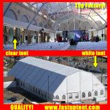 結婚式200の人のSeaterのゲストのための2018のゆとりの多角形の屋根の玄関ひさしのテント