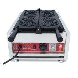 Non-Stick электрическая машина Waffle для Chop еды улицы