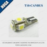 T10 5SMD 5050 Canbus LED Signal-Glühlampe