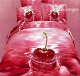 3D Digitale Druk 100% Katoenen Reeksen van het Beddegoed