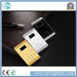 Новый малюсенький миниый мобильный телефон, размер кредитной карточки качества AAA миниый