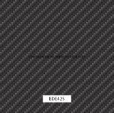 le pellicole larghe di stampa di Hydrographics della fibra del carbonio di 0.5m, la stampa di trasferimento dell'acqua, PVA, le pellicole liquide di immagine per i punti esterni e l'automobile parte (BDAE33)