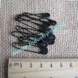 Металлический черный цвет предохранительный палец для подвешивания одежды теги/Labels (H0223A)