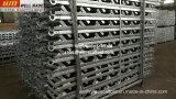 Escaleras del andamio del soldado enrollado en el ejército para el encofrado concreto de la escalera de la construcción