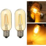 T45 E27 lámpara ahorro de energía blanca blanca/caliente 110V/220V de 4W de Dimmable LED Edison del filamento de la bombilla