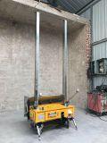 Цемент отделкой стены конструкции автоматический представляет стену штукатуря машина