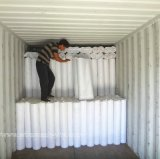 белая ячеистая сеть гипсолита стены стеклоткани цвета 125gr для мозаик