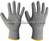 Анти--Отрежьте перчатку работы с покрытием PU (PD8045)