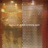 Plaque corrodée d'acier inoxydable (304)