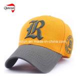 gorra de béisbol de la aduana del bordado 3D