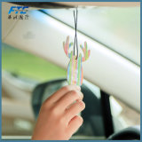 Refraîchissant d'air de papier fait sur commande de parfum de véhicule de vente en gros de refraîchissant d'air de véhicule