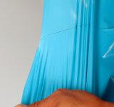 Bolso postal de envío del anuncio publicitario del mensajero del color del bolso del embalaje de la camiseta