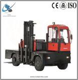 Popular Nuevo cargador lateral estrecha carretilla elevadora Diesel 6ton.