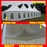 Высокое пиковое пагода палатку в Бангалоре прозрачных палатка
