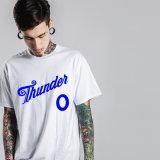 رجال رسالة بيضاء وزرقاء قطر [ت] قميص