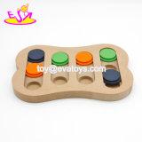 Câble d'alimentation Shaped W06f067 de crabot de l'amusement Q.I. d'os en bois interactif le plus chaud neuf de jeu