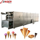 機械を作るフルオートマチックの転送された砂糖のアイスクリームコーン
