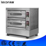 Control de equipo de horno horno de pizza de 2 capas