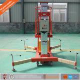 Подъем антенны электрический алюминиевый рабочей платформы единого мачты