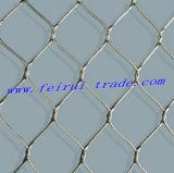 Cuerda de alambre de acero inoxidable con tejido tipo valla de malla