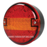 indicatore luminoso rotondo della coda di miscuglio dell'hamburger di 5.5in LED