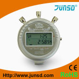 Cronómetro profesional del metal del termómetro (JS-6618)