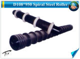 D159*1400 мм Спиральная очистка поверхности натяжного ролика