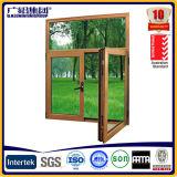Kundenspezifisches doppeltes Schärpe-Flügelfenster-Markisen-Fenster