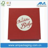 빨강에 의하여 싼 도매 초콜렛 패킹 음식 Garde 인쇄되는 포장 상자