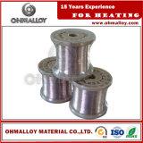 直径0.02-10mmの発熱体のためのFecral21/6合金Fe Cr AlNbワイヤー