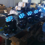 Fascio mobile della fase 7X12W di DMX mini della lavata eccellente dell'indicatore luminoso LED