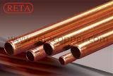 Soft tempérer les tuyaux de cuivre souple