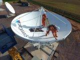7.3m örtlich festgelegte Satellitenerdefunkstelle Rxtx Antenne