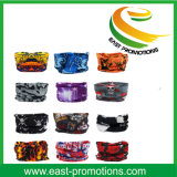 Microfiberのカスタム多機能の多機能のヘッドスカーフ