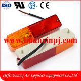 Endstück-Licht 12V des Hecha Gabelstapler-Licht-LED mit 2 Farben