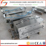 Cadena de producción hueco de la protuberancia del marco de la tarjeta de la puerta del PVC WPC máquina