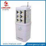 3W DC Recarregável Luz Solar de LED de Emergência